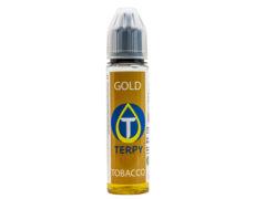30 ml Durchstechflasche Tabak Gold für E-Zigarette Liquid