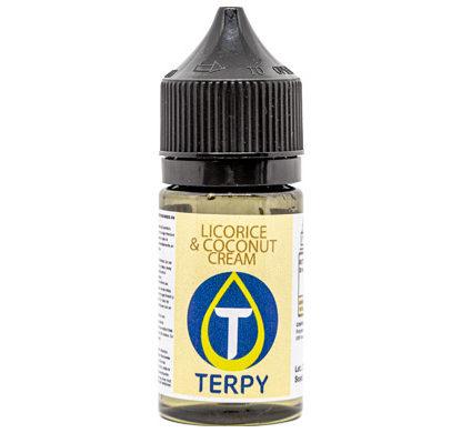 60 ml Becher E-Zigarette Cremig Liquid Licorice & Coconut