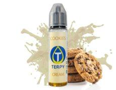 Flasche 30ml mit Vape-liquid mit dem cremigen Geschmack von cookies für elektronische Zigaretten