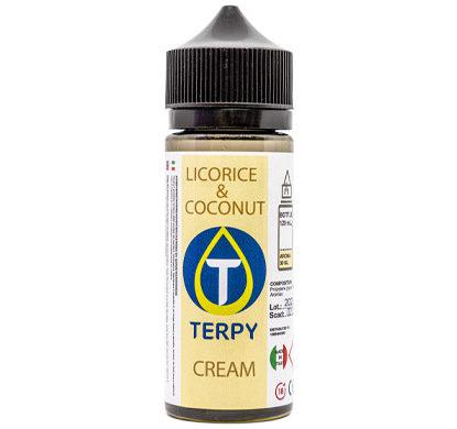 120 ml Flasche E-Liquid Cremig Licorice & Coconut für elektronische Zigarette