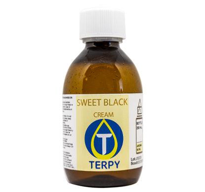 250 ml Flasche E-Liquid Cremig Sweet Black für elektronische Zigarette