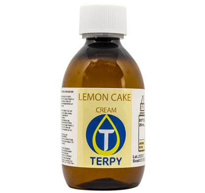 250 ml Flasche E-Liquid Cremig Lemon Cake für elektronische Zigarette