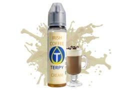 Flasche mit Vape-liquid mit dem cremigen Geschmack von Irish Coffeé