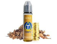 Vaping liquid-flasche für elektronische Zigarette mit Goldtabakgeschmack