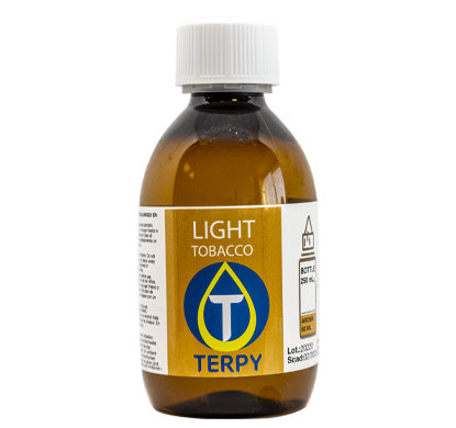 250 ml Flasche E-Liquid Tabak Light für elektronische Zigarette