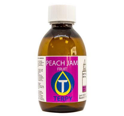 250 ml Flasche E-Liquid fruchtige Peach Jam für elektronische Zigarette