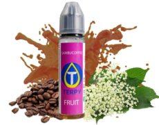 Flasche fruchtige Flüssigkeit für elektronische Zigarette mit Kaffee- und Anisgeschmack