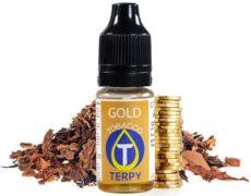 Vaping aroma-flasche für elektronische Zigarette mit Goldtabakgeschmack