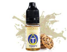 Flasche mit Vape-aroma mit dem cremigen Geschmack von cookies für elektronische Zigaretten