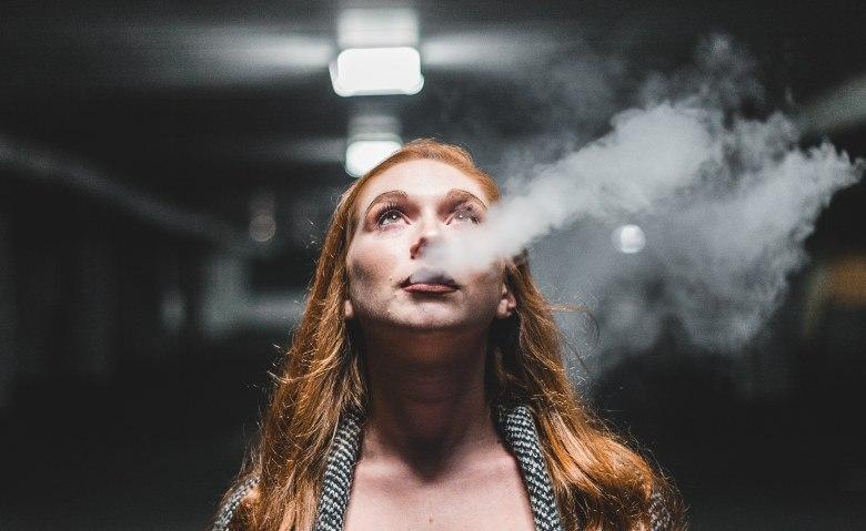 elektronische Zigarette verdampft e liquid