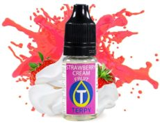 Strawberry crea E-Zigaretten arome mit Erdbeergeschmack