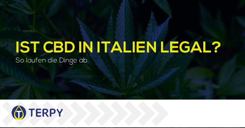 Ist CBD in Italien legal