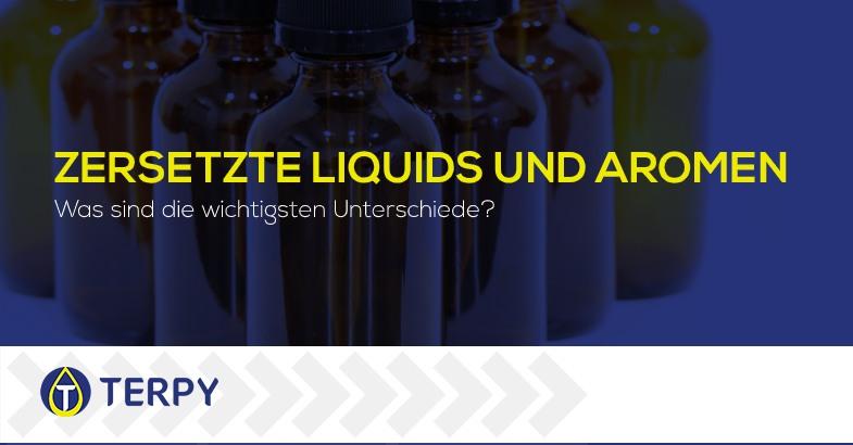 Zersetzte Liquids und Aromen
