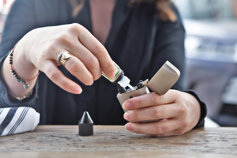 CBD e liquid für elektronische Zigarette