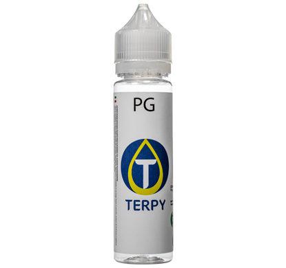 Flasche von E-Liquid Base PG für E Zigarette