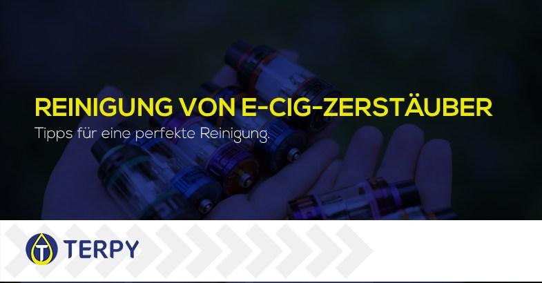 Reinigung von E-Zigaretten-Zerstäuber