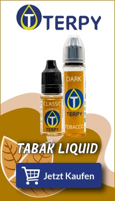 Banner Terpy Tabak Liquids für elektronische Zigarette
