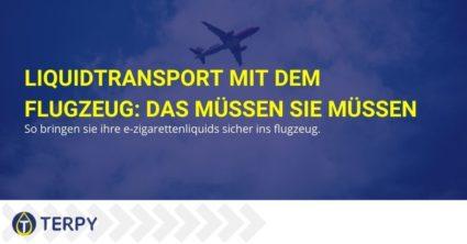 Liquidtransport mit dem Flugzeug: Das müssen Sie müssen
