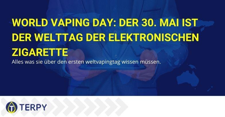 World Vaping Day: Der 30. Mai ist der Welttag der elektronischen Zigarette