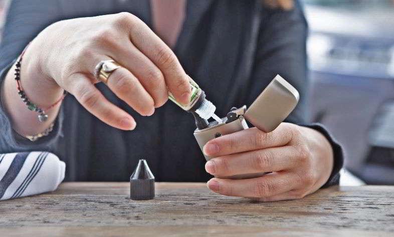 Flüssigkeitsdichte der E-Zigarette und VG-Prozentsätze