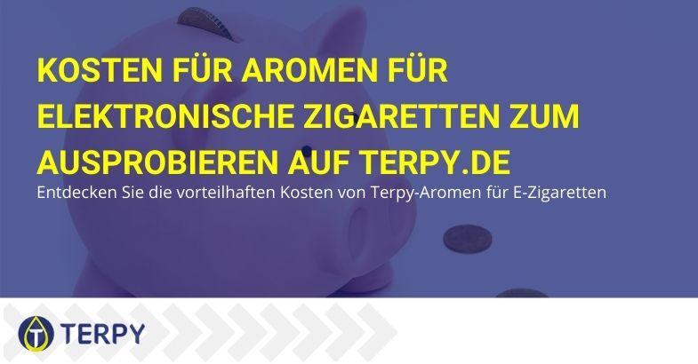 Entdecken Sie die vorteilhaften Preise für Terpi-Aromen für elektronische Zigaretten