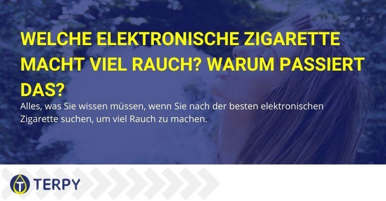 Alles über elektronische Zigaretten, die viel rauchen.