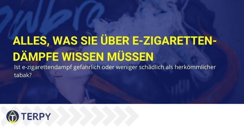 Alles, was Sie über E-Zigaretten-Dämpfe wissen müssen