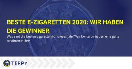 Die Gewinner-E-Zigaretten im Jahr 2020 laut Terpy