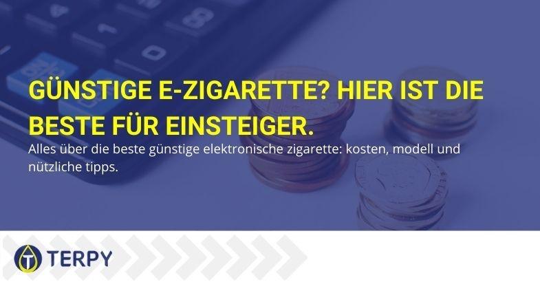 Günstige elektronische Zigarette - alles rund um das Beste