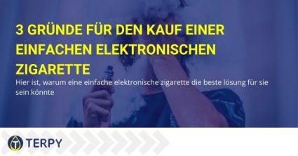 Deshalb wäre der Kauf einer einfachen E-Zigarette die bessere Lösung