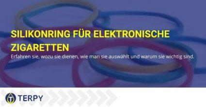 Der Silikonring für elektronische Zigarette warum ist er wichtig, wozu dient er?
